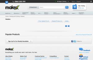 Makro website screengrab